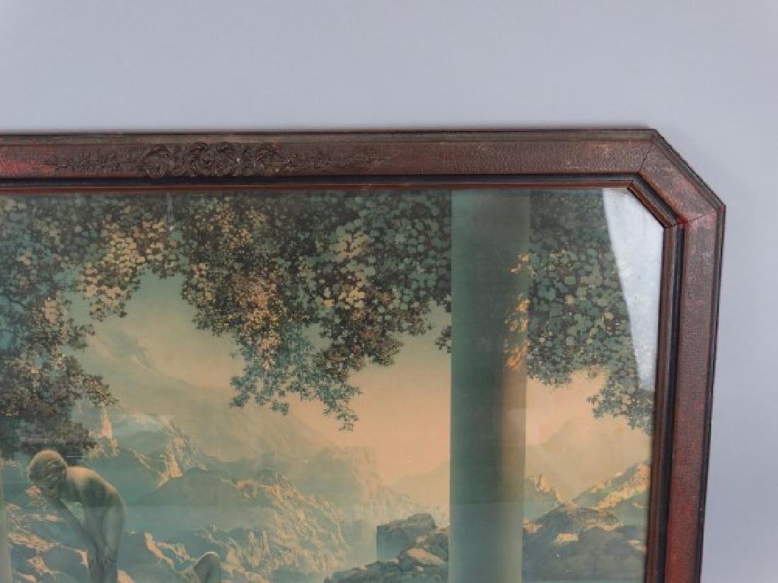 MAXFIELD PARRISH - Print in Original Frame - 3