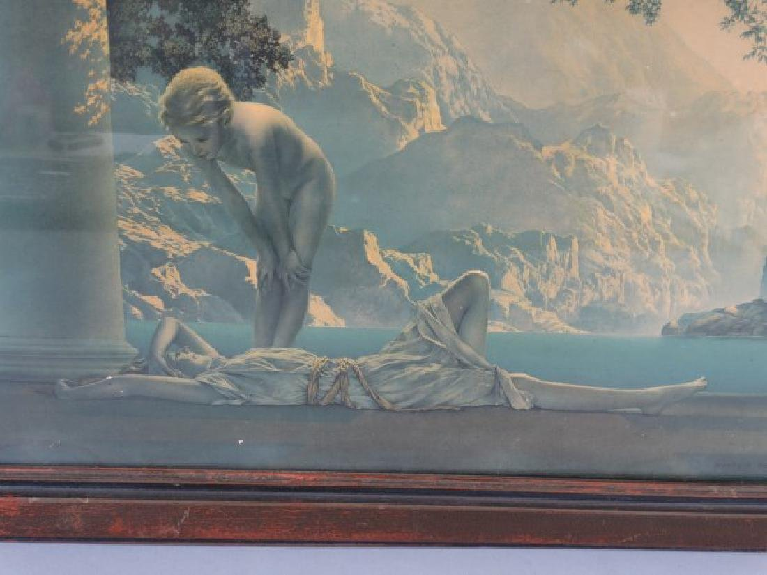 MAXFIELD PARRISH - Print in Original Frame - 5