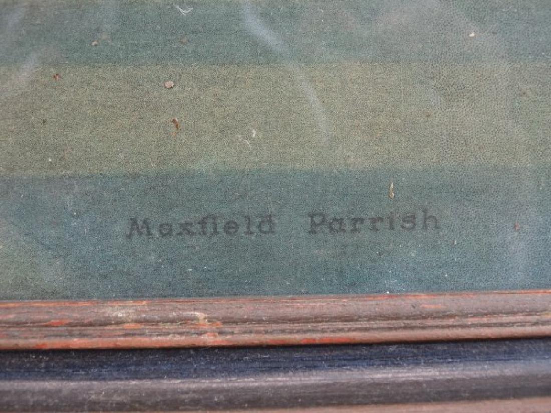 MAXFIELD PARRISH - Print in Original Frame - 7
