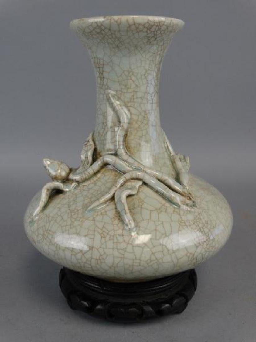 Chinese Crackleware Vase