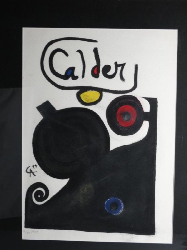 ALEXANDER CALDER - Limited Edition Lithograph