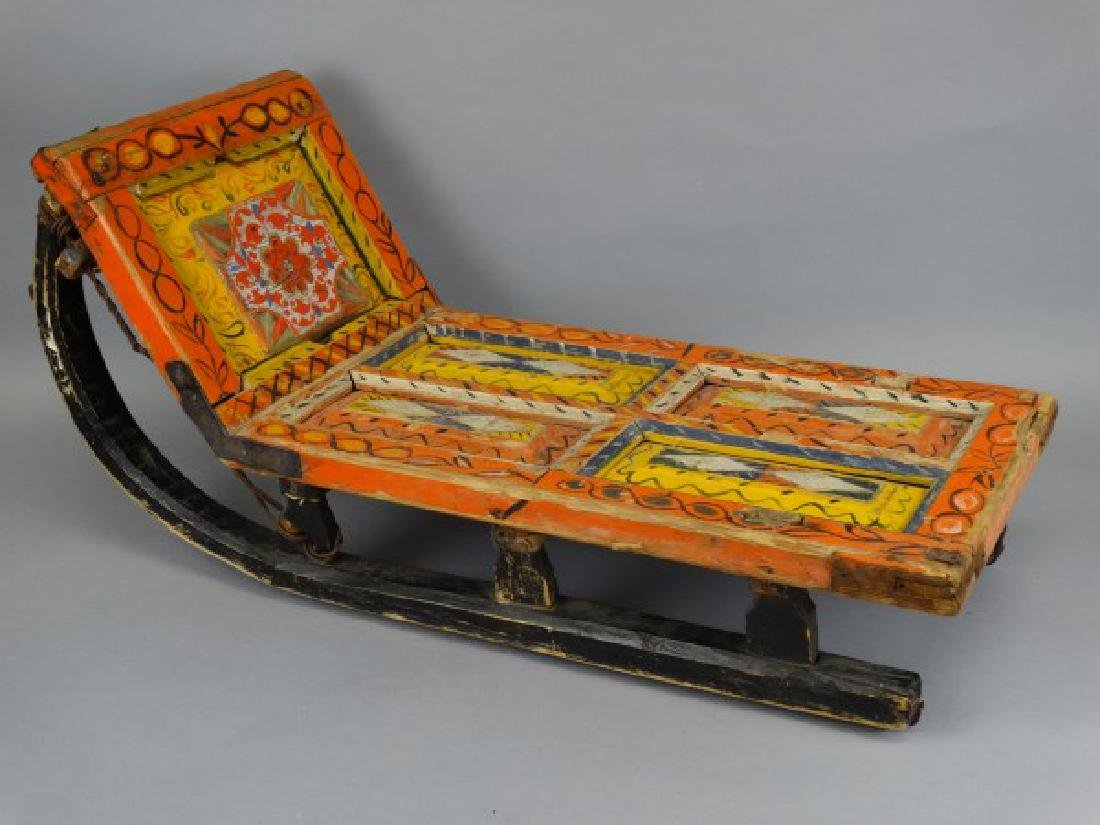 Antique Russian Sled - 2
