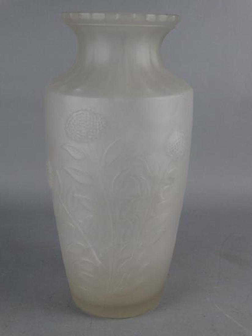 Josef Inwald Barolac Frosted Vase