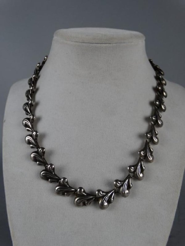 Mexican Sterling Silver Choker