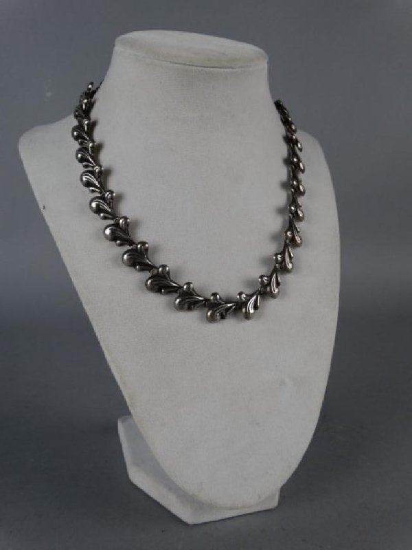 Mexican Sterling Silver Choker - 2