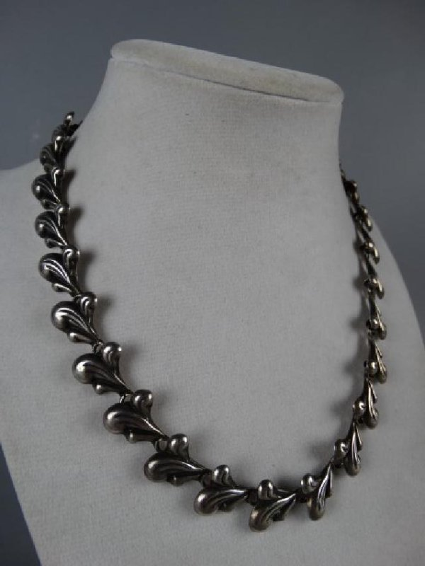 Mexican Sterling Silver Choker - 3