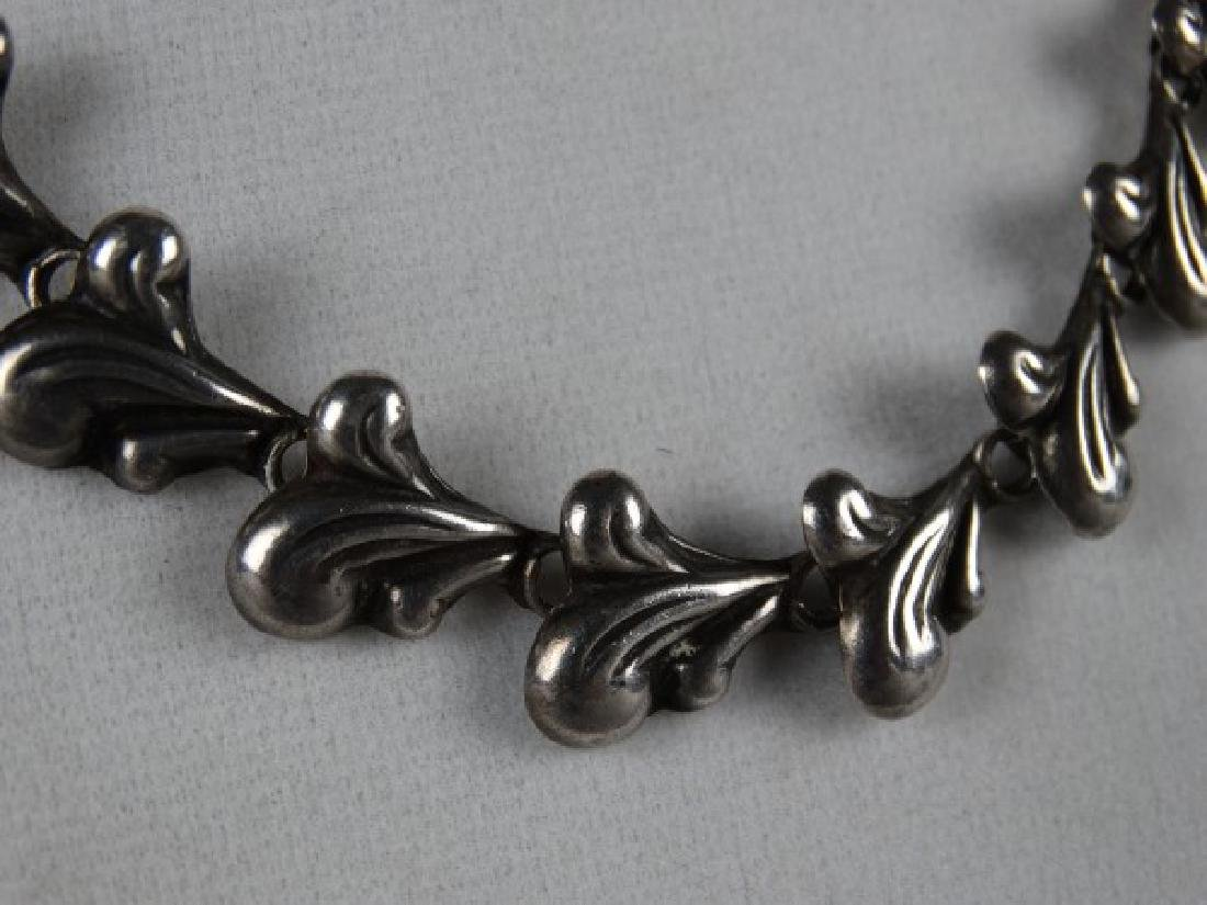 Mexican Sterling Silver Choker - 4