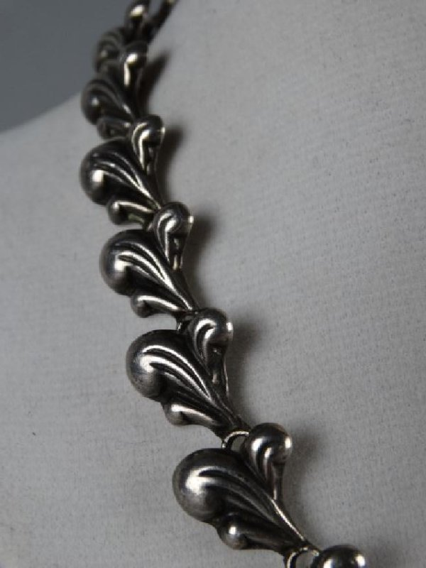 Mexican Sterling Silver Choker - 5