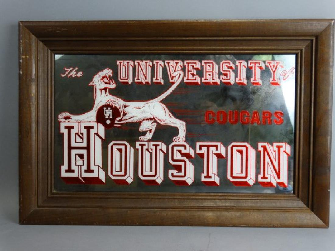 University of Houston Vintage Mirror