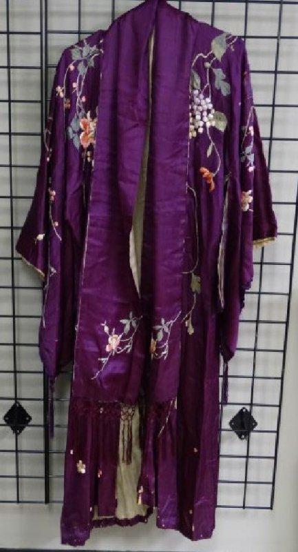 Chinese Silk Kimono Robe