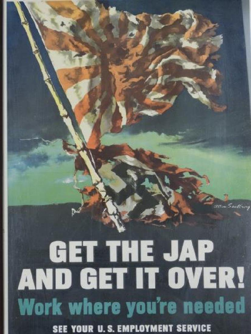 Original U.S. World War II Poster
