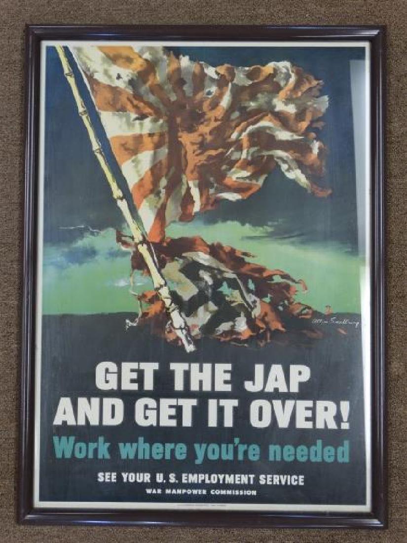 Original U.S. World War II Poster - 2