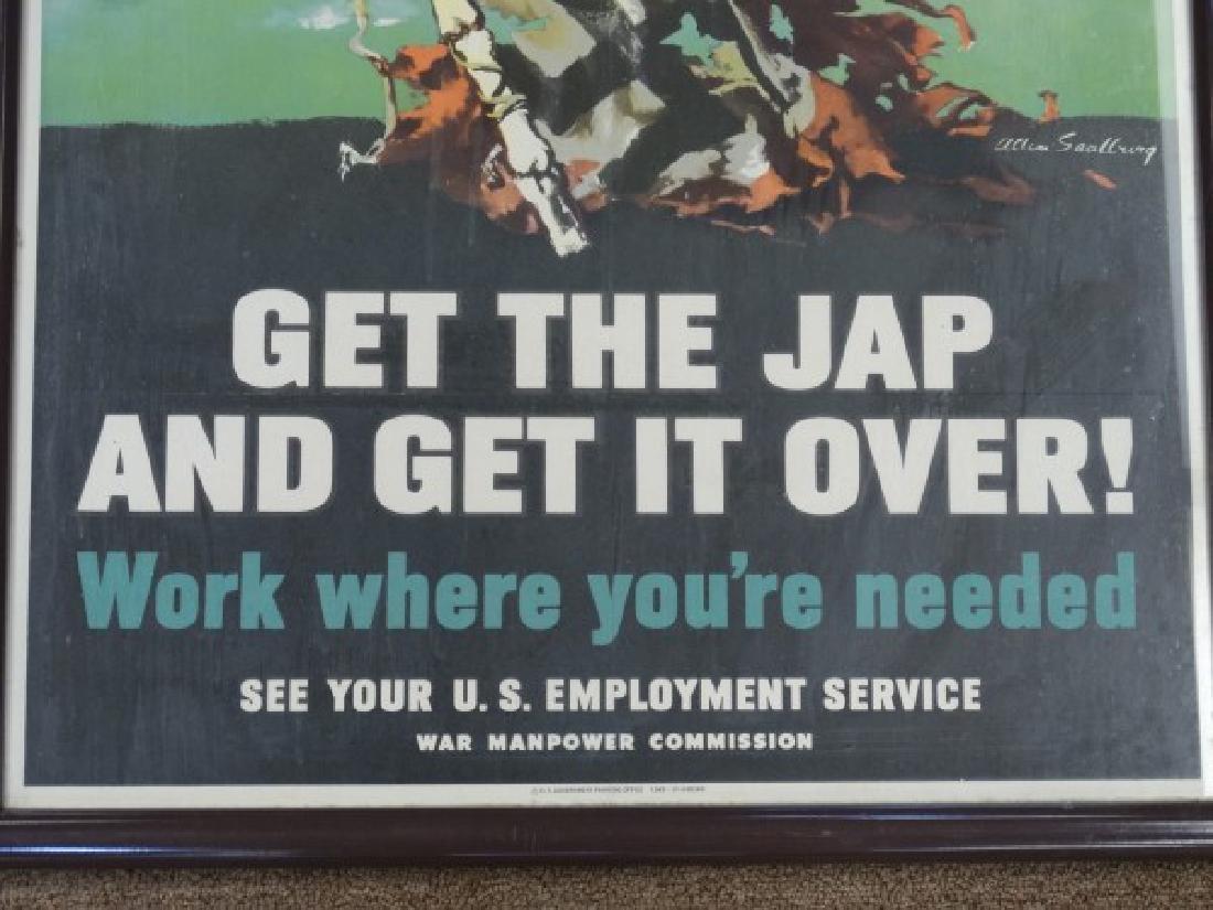 Original U.S. World War II Poster - 4
