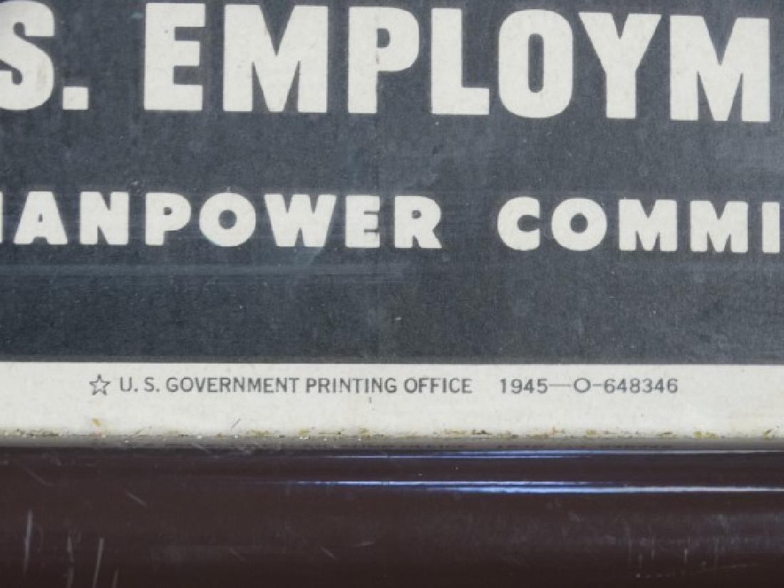Original U.S. World War II Poster - 5