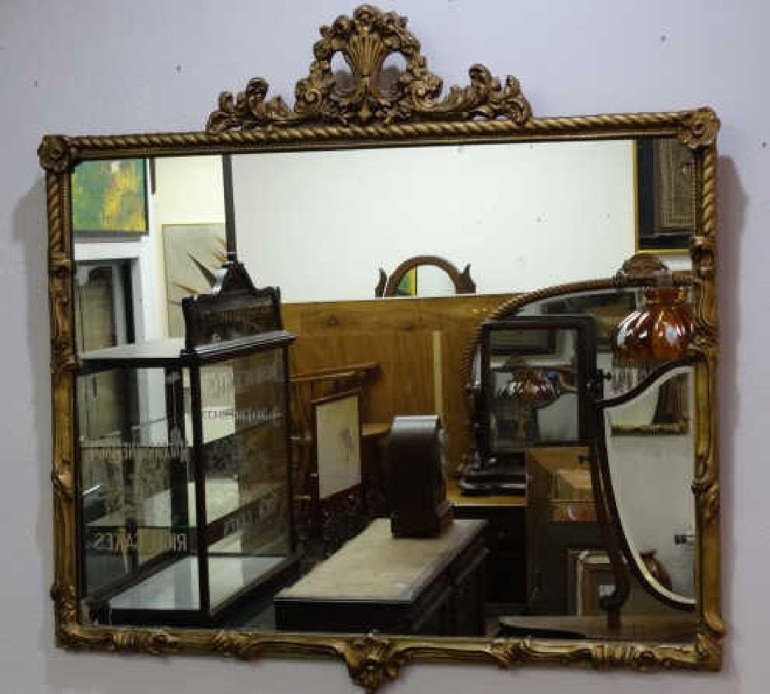 Antique Gold Gilt Mirror