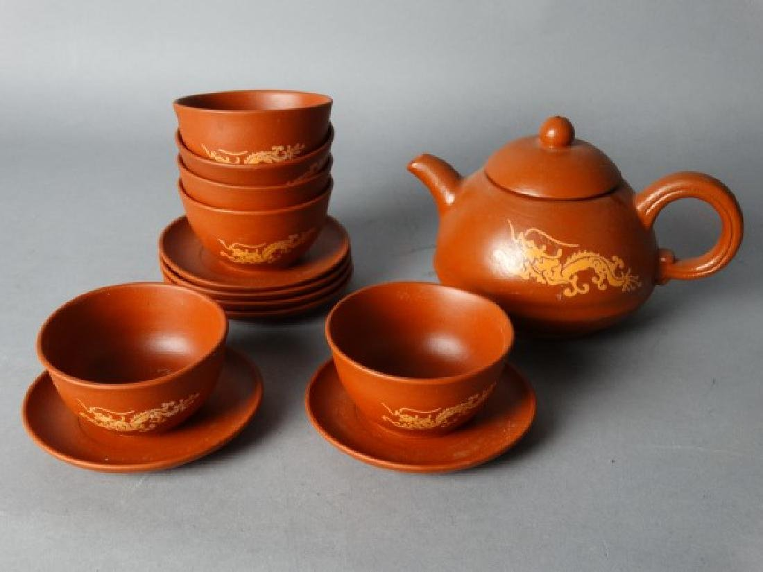 Yixing Tea Set - 2