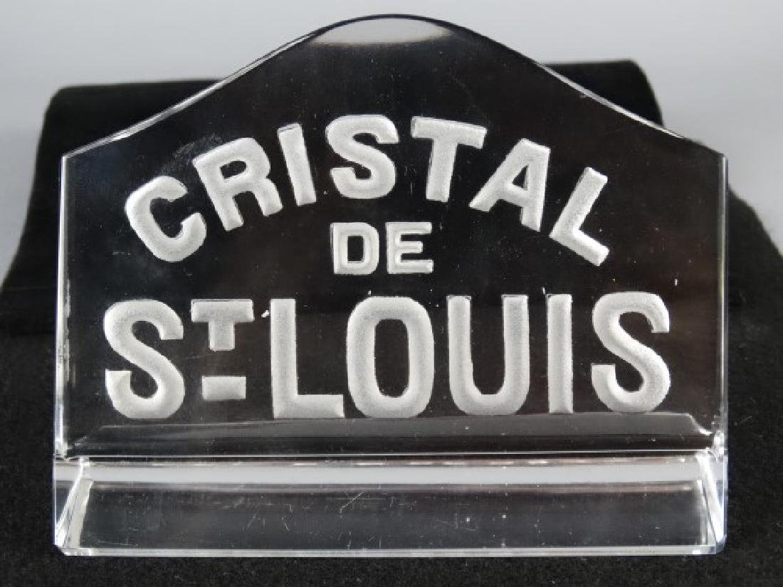 Cristal de St. Louis Store Display