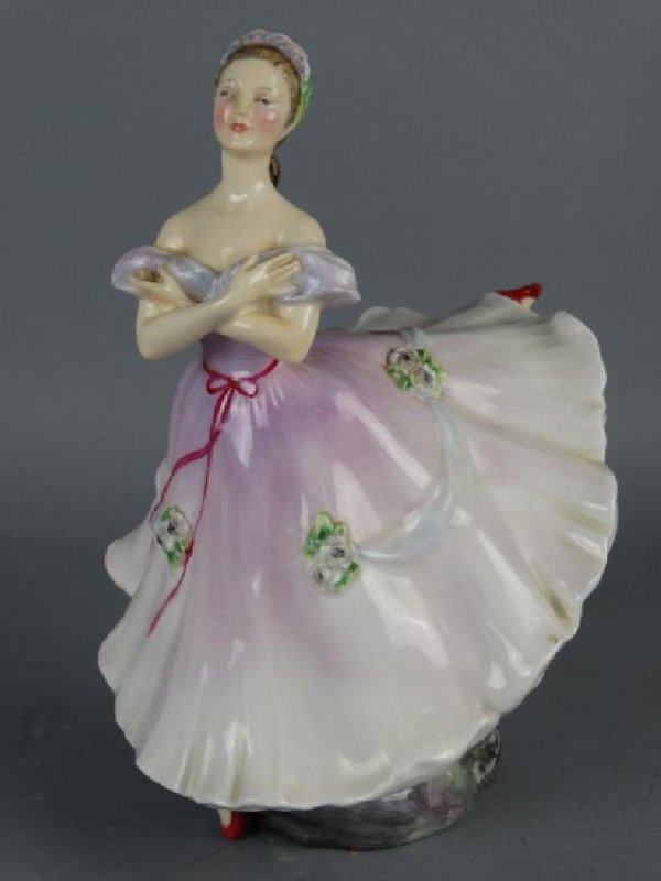 Royal Doulton Porcelain Figure - Lady
