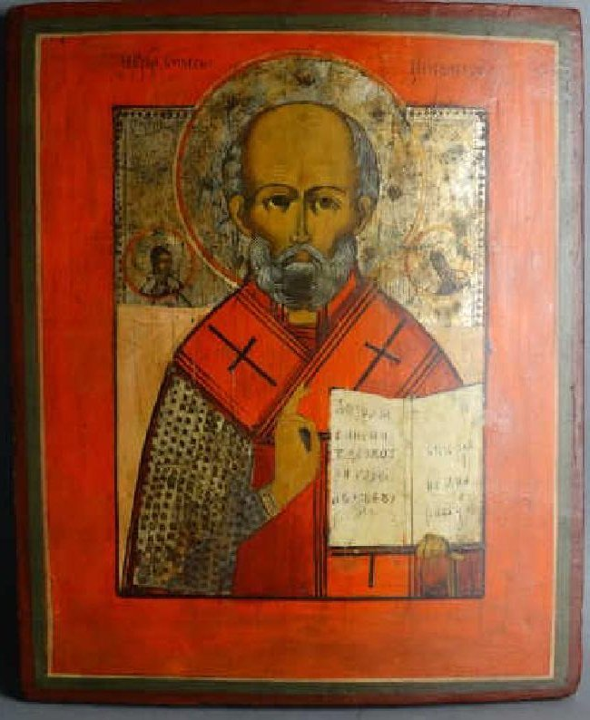 19c. Russian Icon Painting
