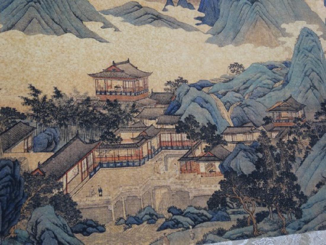 Chinese Horizontal Scroll Print - Cityscape - 6