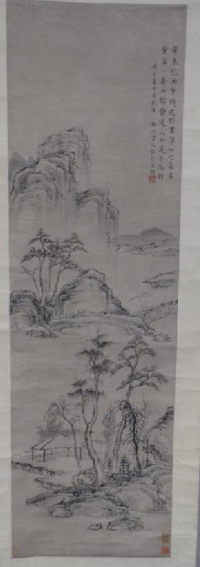 Chinese Scroll Print - Landscape