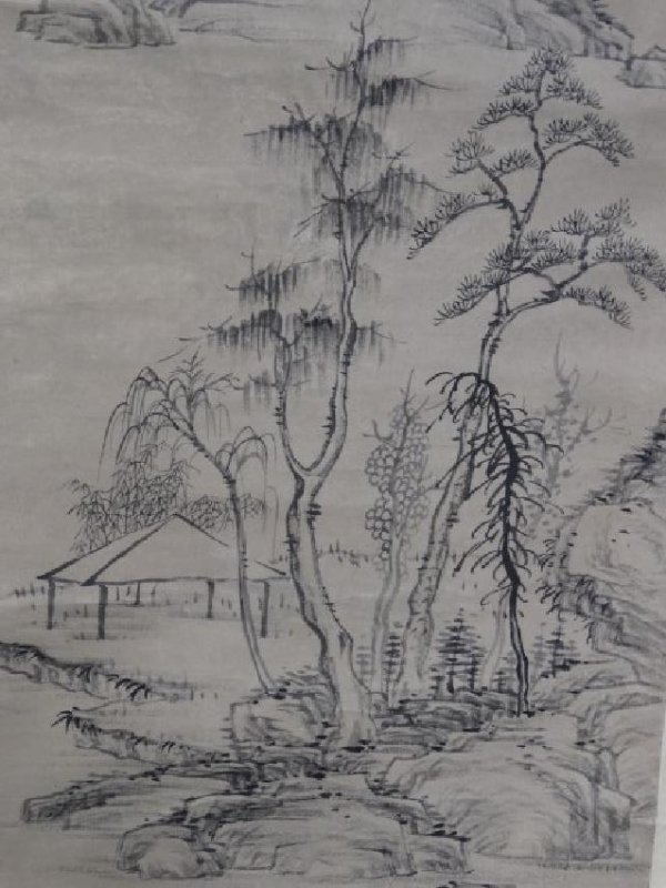 Chinese Scroll Painting - Landscape - 3