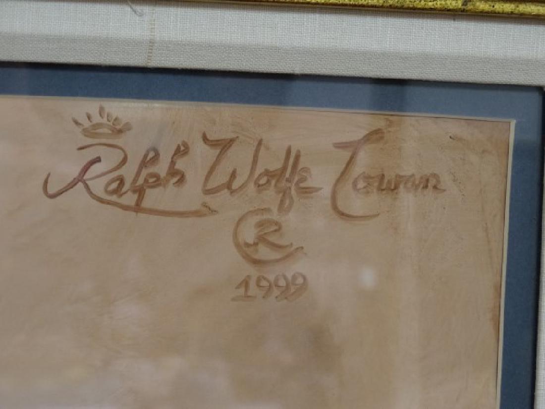 RALPH WOLFE COWAN : Robert Finger Painting - 6