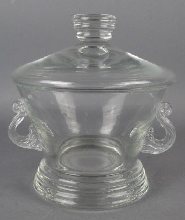 Lidded Glass Jar