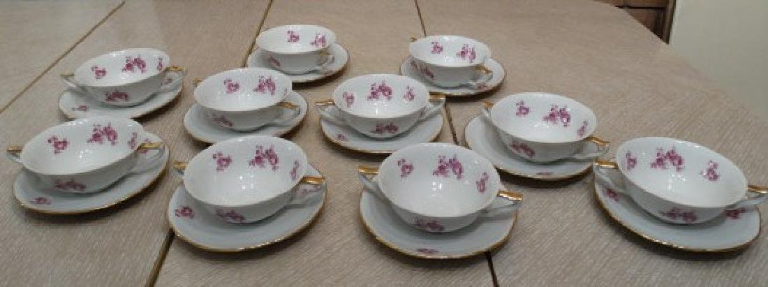 Santa Clara China - 'Vigo Pattern' Consomme Sets