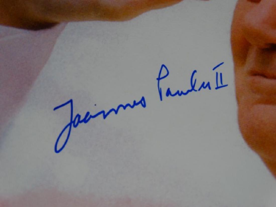 POPE JOHN PAUL II - Autographed Picture - 3