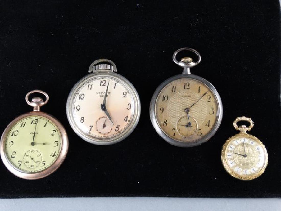 Lot of Four Pocket Watches (3 Mens, 1 Ladies)