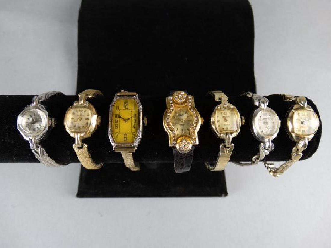 Lot of 7 Ladies Vintage Wristwatches
