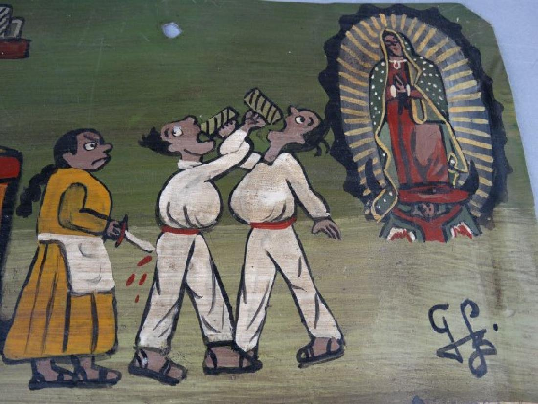Mexican Folk Art Retablo 1917 - 2
