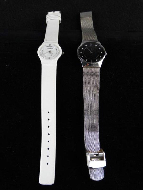 Lot of 2 Skagen Watches from Denmark