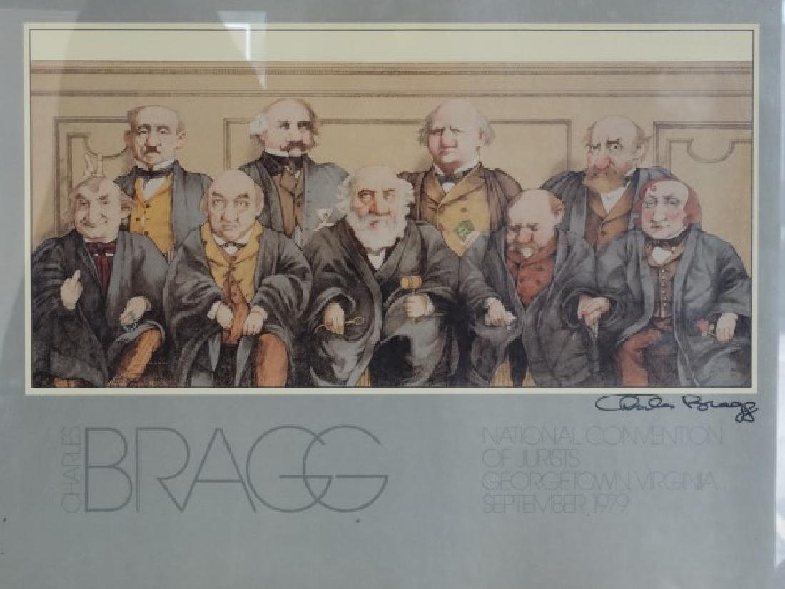 CHARLES BRAGG - Signed Print