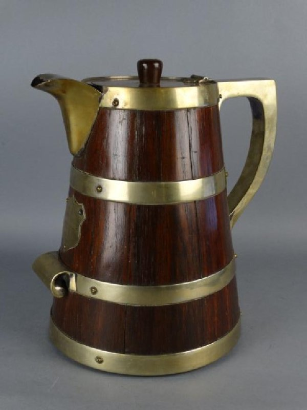 Brass & Wood Pitcher, Track & Field Award, 1883