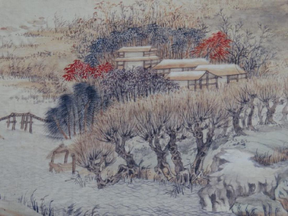 Chinese Horizontal Scroll Print - Landscape - 2