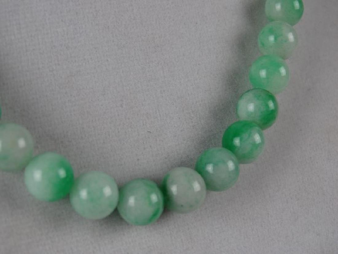 Jade Bead Necklace - 4