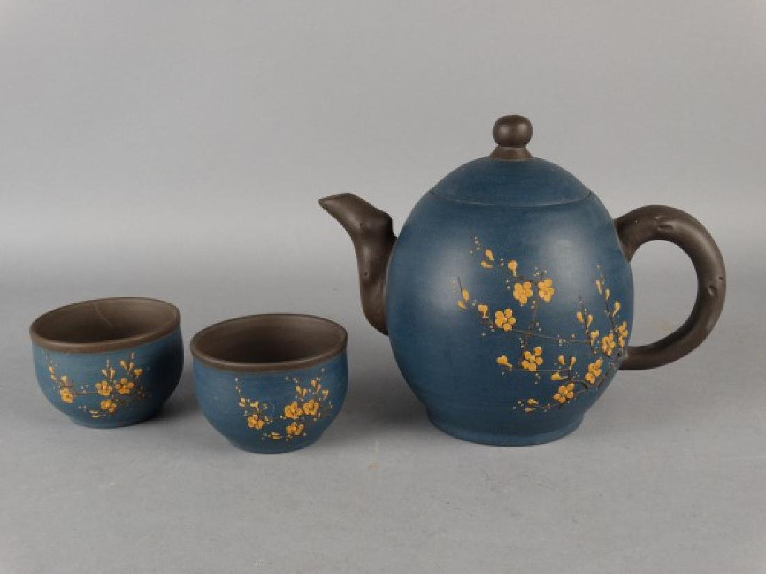 Yixing Teapot & Cup Set