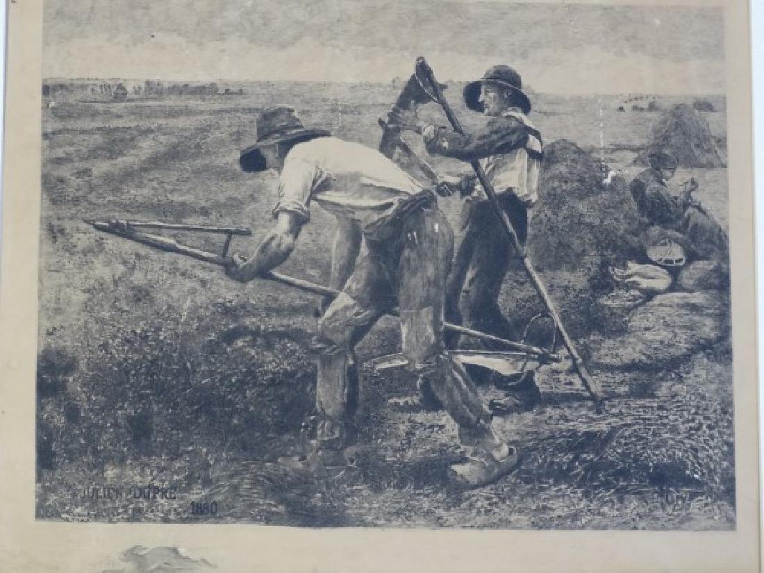 JULIEN DUPRE - Engraving from 1880