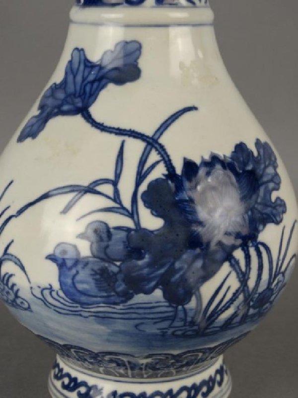 Chinese B&W Vase - 3