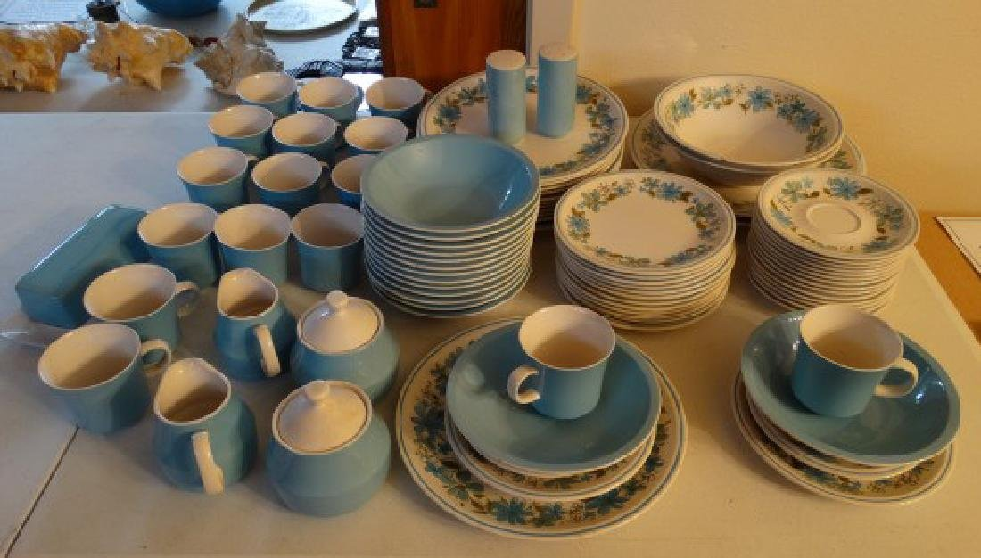 Vintage Mikasa China - 'Gigi' Pattern, 84 Pcs.