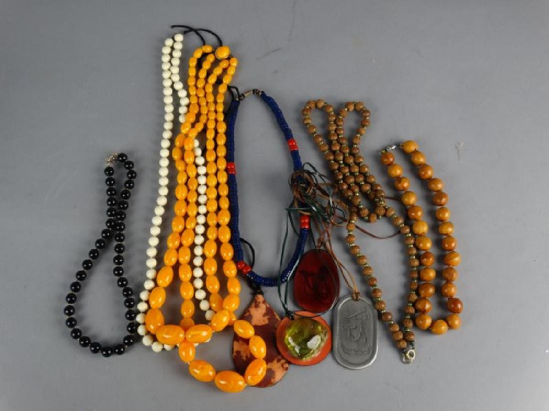 Grouping of 10 Necklaces - 2