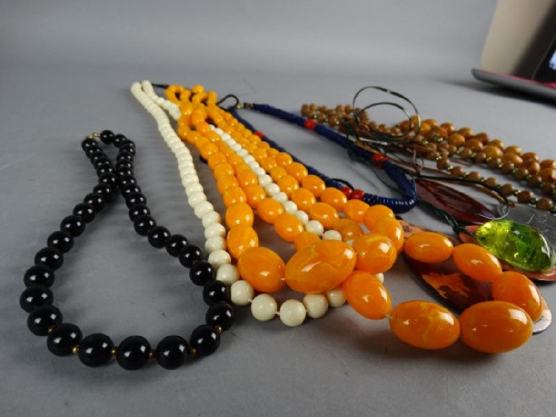 Grouping of 10 Necklaces - 3