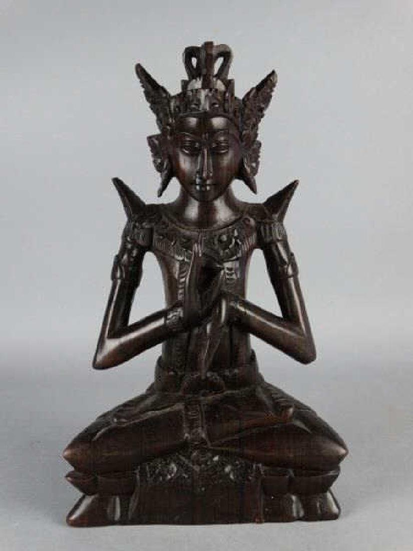 Southeast Asian Carved Deity