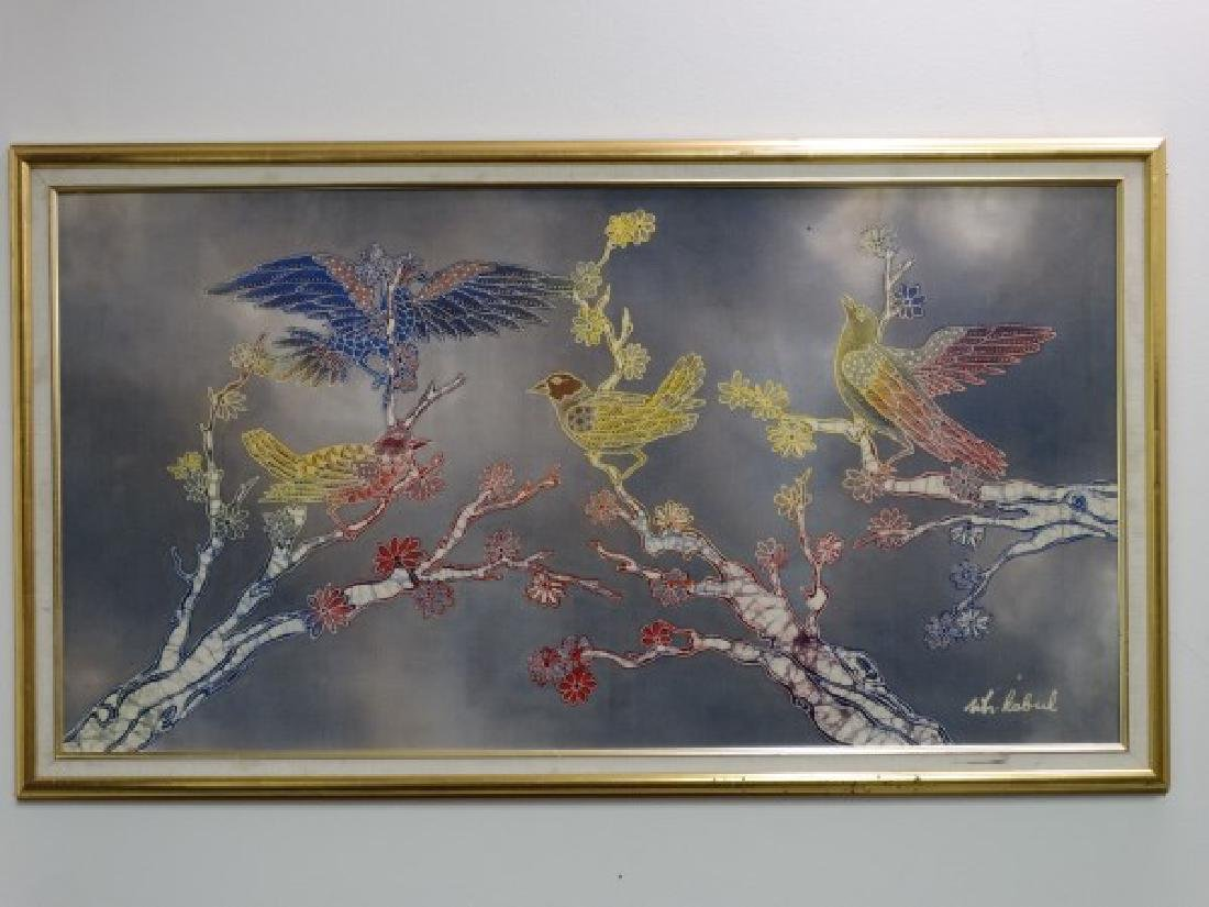 WIJI HARTONO KABUL : Batik Painting of Birds