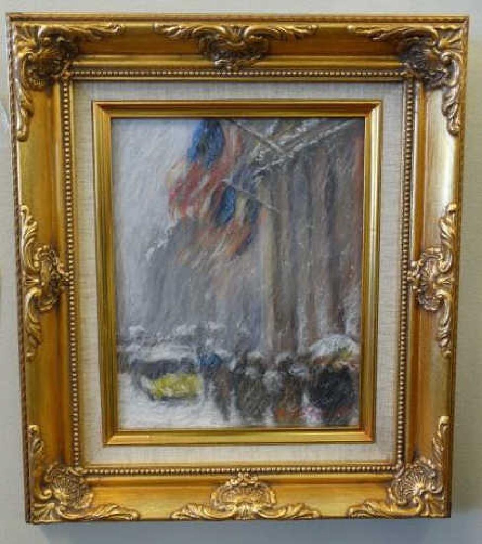 MARILYN GUERINOT : Oil on Canvas