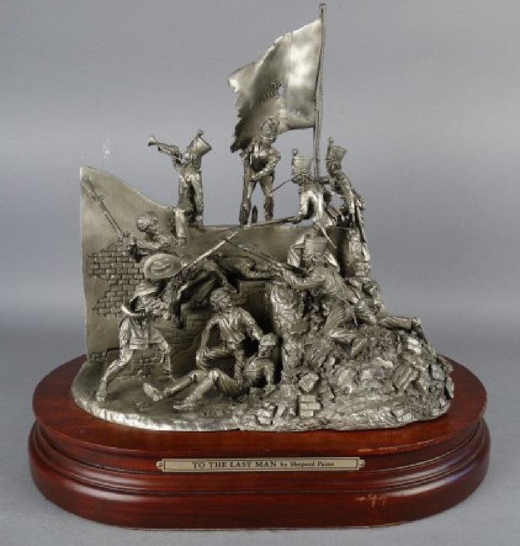 SHEPERD PAINE - Pewter Sculpture