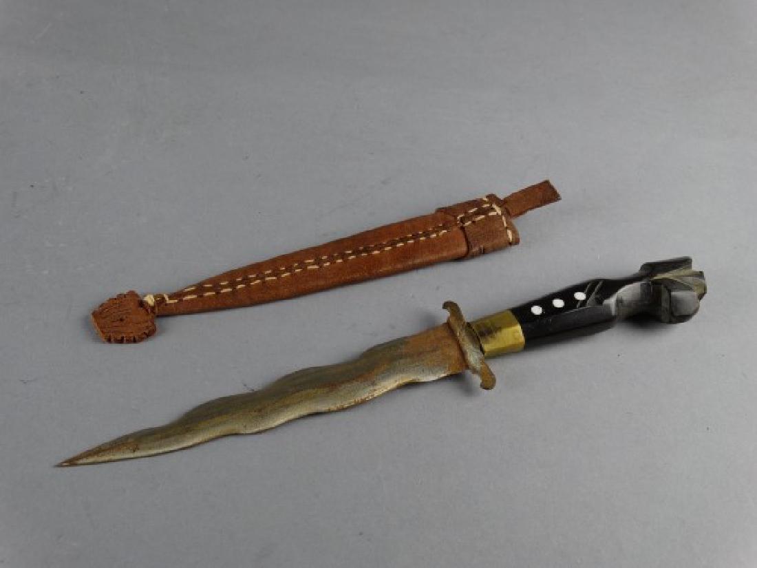 Vintage Horn Handled Southeast Asian Kriss