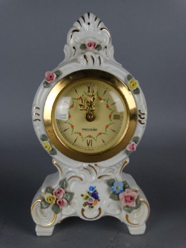 Group of 3 Small Rococo Style Clocks - 2